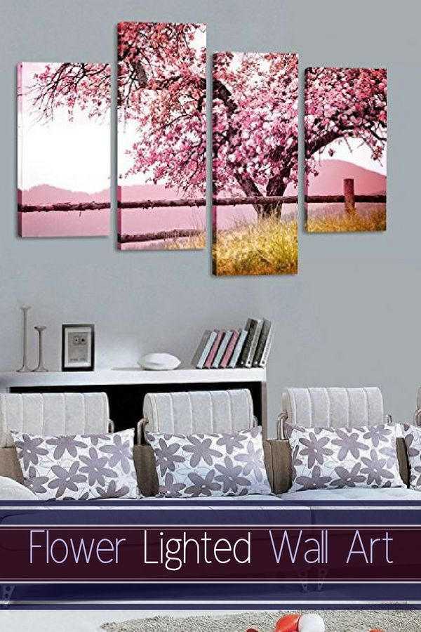 Lighted Wall Art Decor Popular And Trendy Illuminated Wall Art Japanese Wall Decor Wall Art Lighting Decor