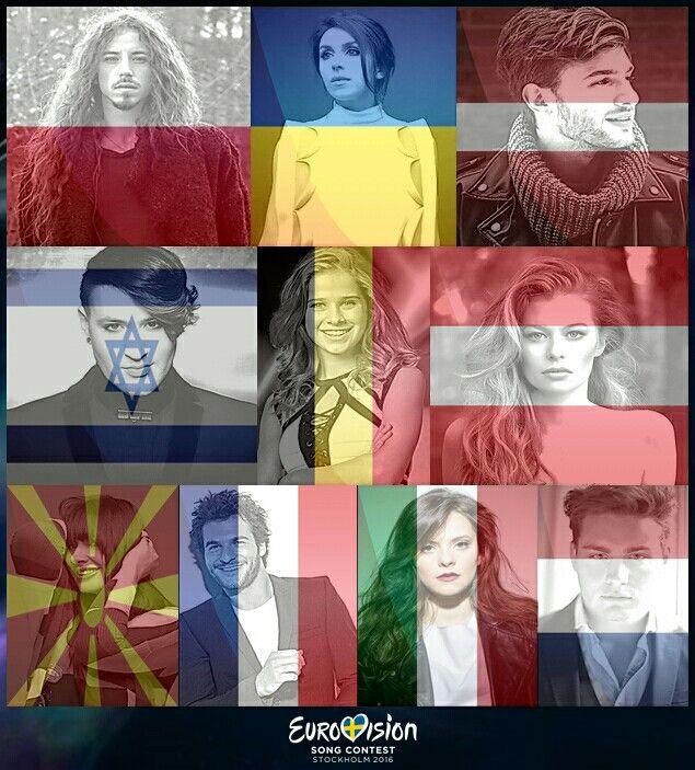 My top 10 favorite entries for this year's #Eurovision  #MichałSzpak #ColorOfYourLife #Poland #Jamala #1944 #Ukraine #Justs #Heartbeat #Latvia #ZOË #LoinDIci #Austria #LauraTesoro #WhatsThePressure #Belgium #HoviStar #MadeOfStars #Israel #Kaliopi #Dona #Macedonia #Amir #JaiCherché #France #FrancescaMichielin #NoDegreeOfSeparation #Italy #DouweBob #SlowDown #Netherlands