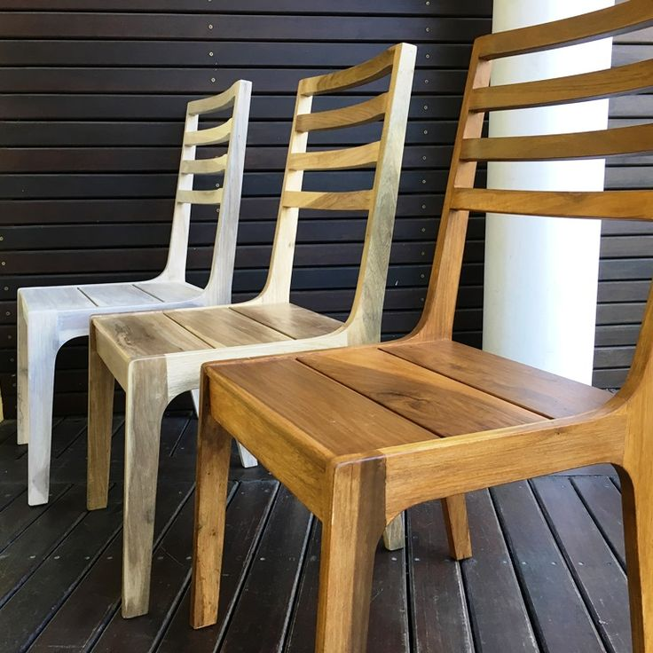 10 best sillas y bancos de madera para exterior images on pinterest wooden benches chairs and - Sillas y bancos ...