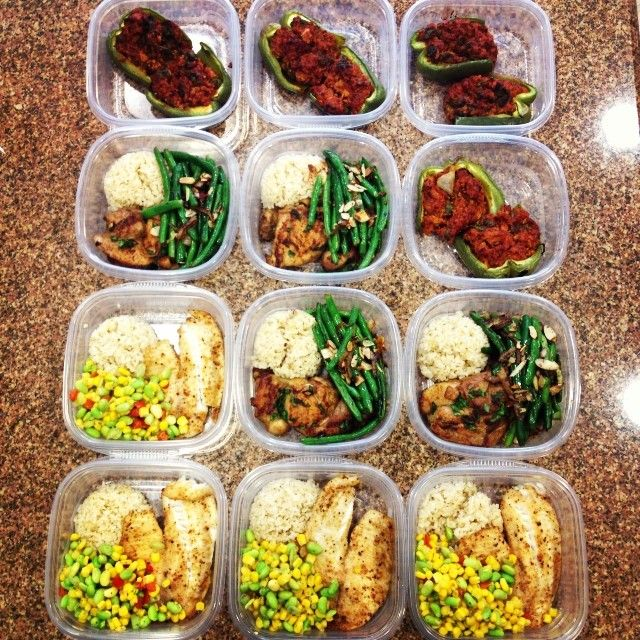 IG: t1nstar | Just another Meal Prep Monday!