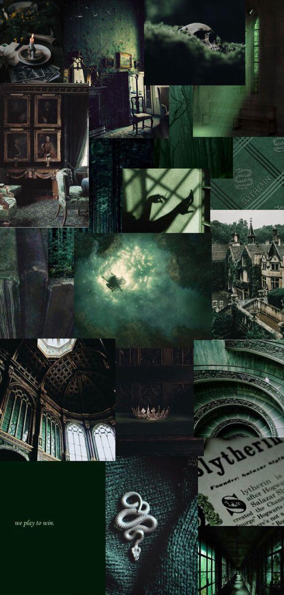 Slytherin Wallpaper In 2021 Slytherin Wallpaper Harry Potter Aesthetic Slytherin Wallpaper iphone aesthetic slytherin