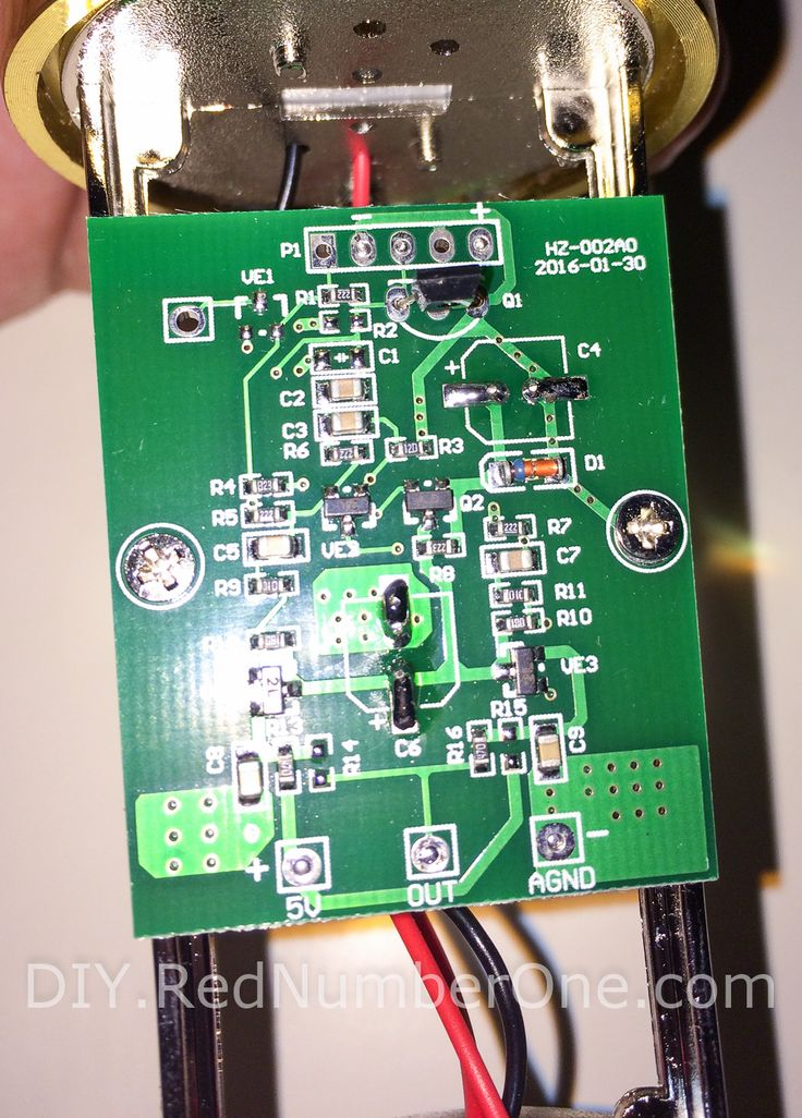 The BM 800 Condenser Microphone PCB