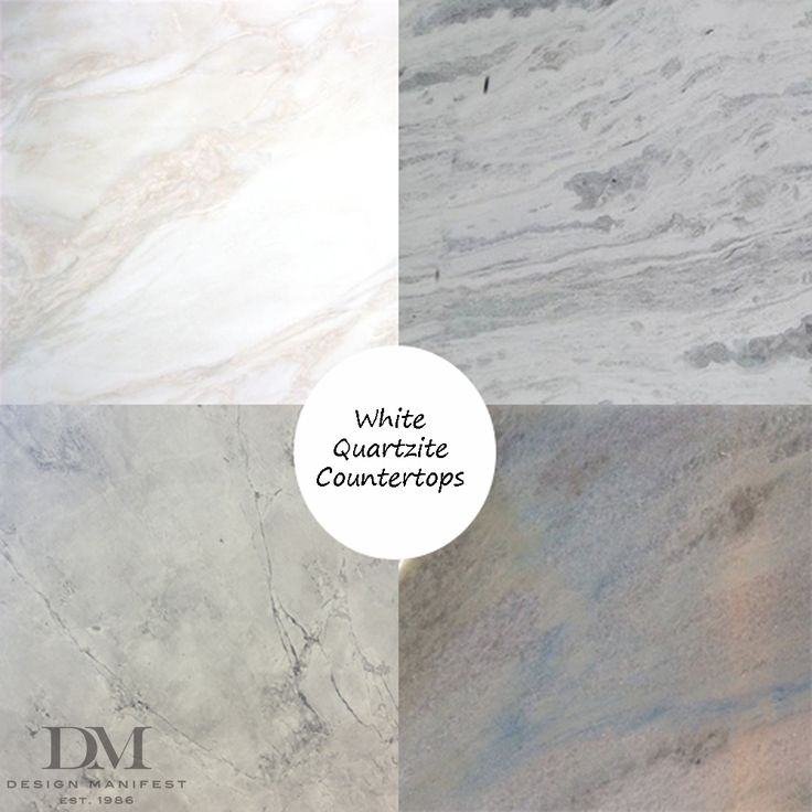 What is quartzite? It's like marble and granite had a baby and gave it their respective best characteristics. It's a natural stone that is harder and less porous than marble but isn't speckled and busy like granite.  It has the soft movement and veining more similar to marble and comes in a variety of light colors that are intriguing and beautiful without being busy.