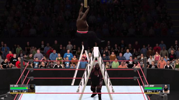 [WWE2k16] When Superman meets the World's Strongest Man