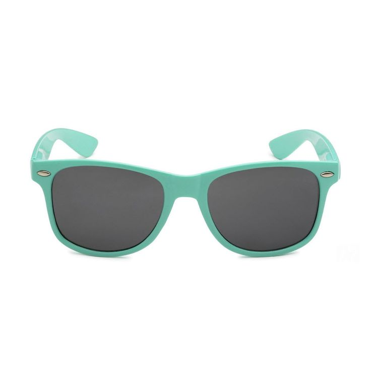 Jenks Lake Women's Teal Retro Rewind Fashion Sunglasses (charity style)