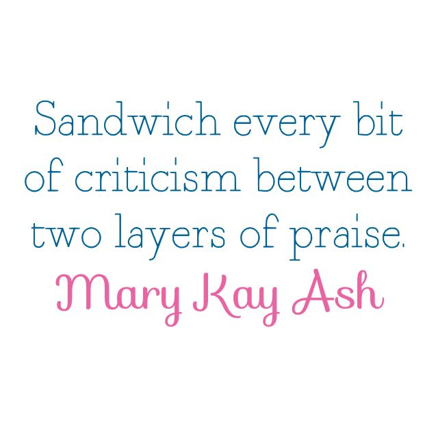 words of wisdom from - Mary Kay Ash