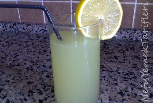 Pastane Limonatası Tarifi