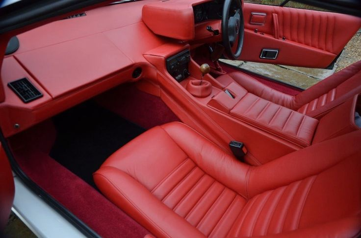lotus esprit full interior retrim in leather lotus esprit pinterest lotus esprit lotus. Black Bedroom Furniture Sets. Home Design Ideas