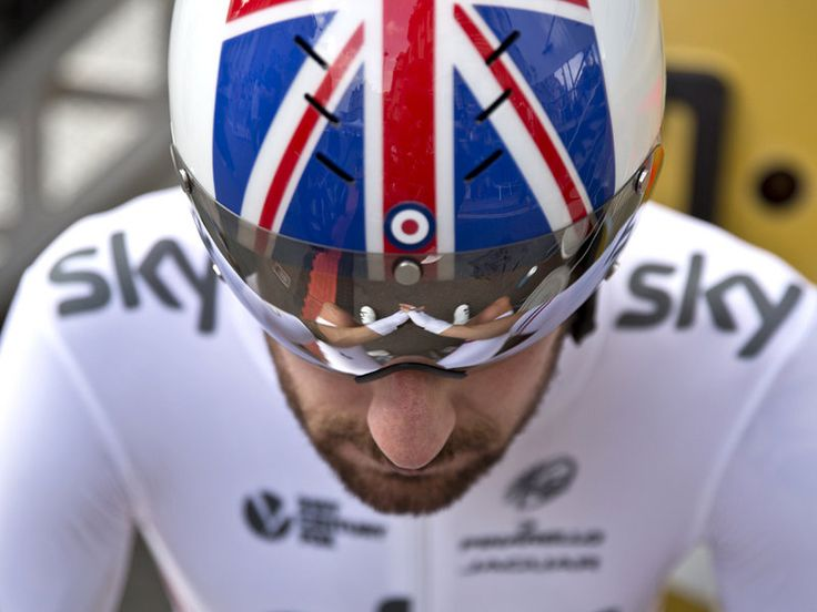 Scott Mitchell's Tour of Britain Gallery Sir Bradley Wiggins gets ready to roll in the morning's time trial