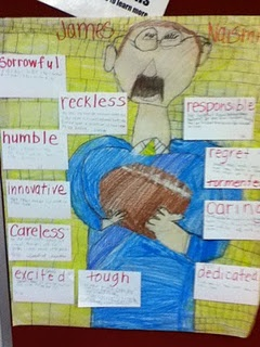 Build vocabulary and improve comprehension by using a character analysis chart.