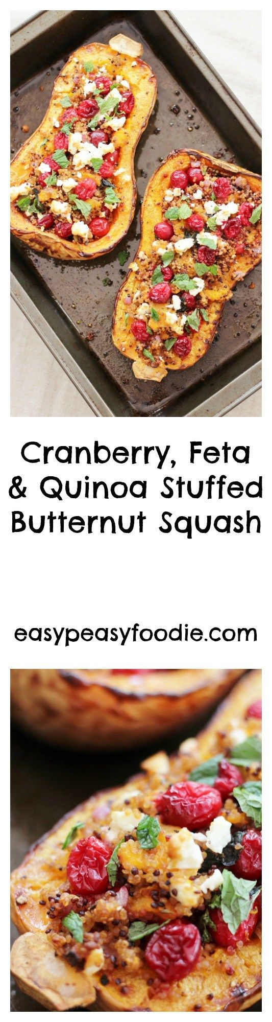 17 best ideas about stuffed butternut squash on pinterest for Vegetarian christmas stuffing