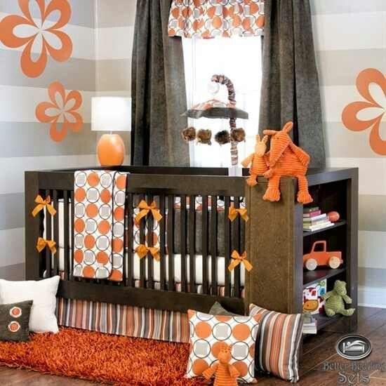 Plus de 1000 id es propos de d coration pour chambre de b b sur pinterest for Decoration chambre camaieu orange