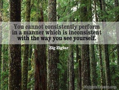 Zig Ziglar Quote Way You See Yourself