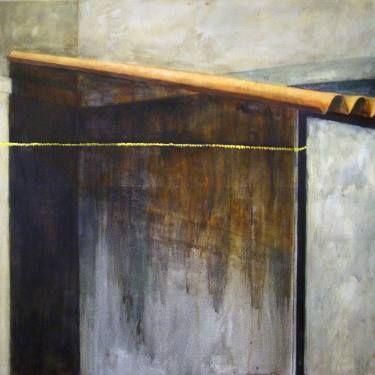 "Saatchi Art Artist Marjan Fahimi; Painting, ""Urban Detail - 3"" #art"