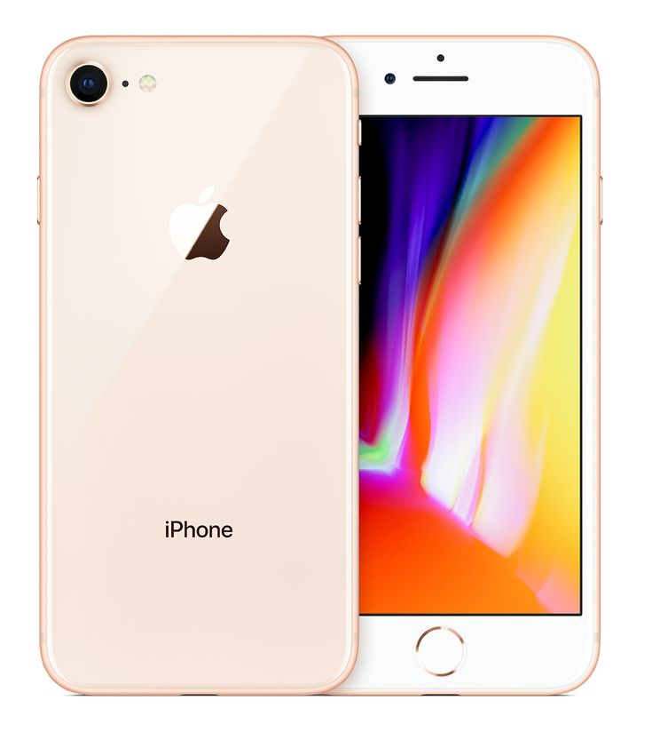 Apple iphone 8 119 cm 47 128 gb single sim gold in