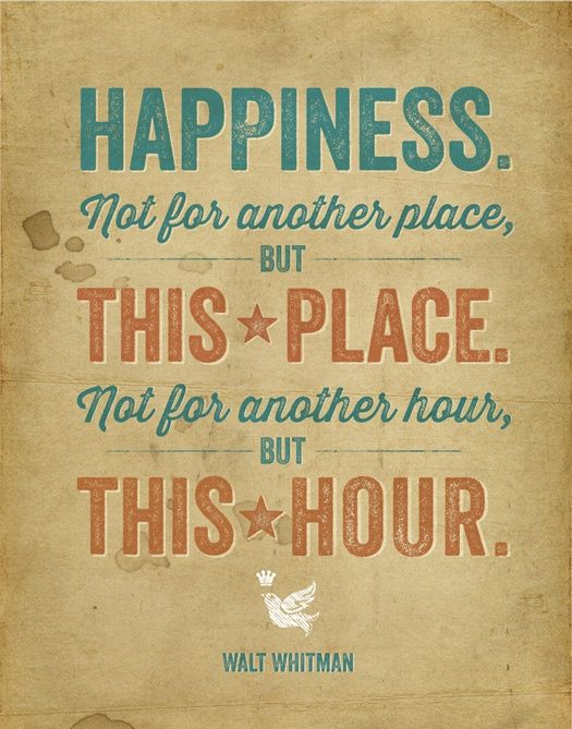 #LoveYourFloor Happiness Not For Another Place