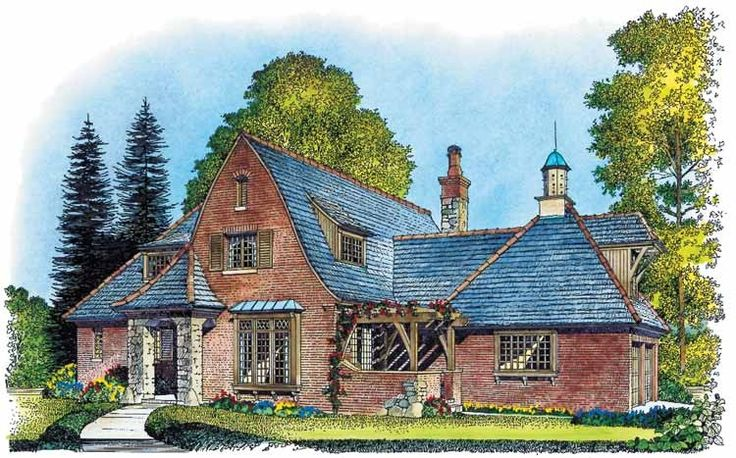 17 best images about home plans styles designs on for European manor house plans