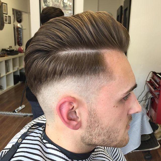 15 Exquisite Uppercut Frisuren Fur Manner Die Frisur Heren Kapsel Heren Kapsel Achterkant Kapselideeen