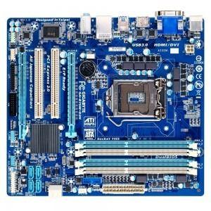 Placa baza GA-b75m-d3h sk 1155 #componentesecondhand