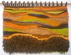 tapices en telar hechos mano - Buscar con Google