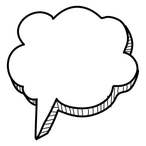 Hand Drawn Cloud Bubble Png Bookshelves Pinterest