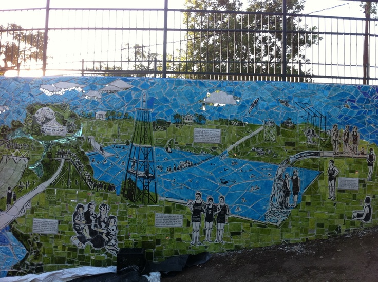 Deep Eddy Mural - a favorite place of mine.