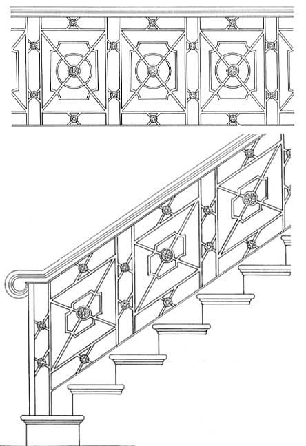 Stair Railing Designs ISR012
