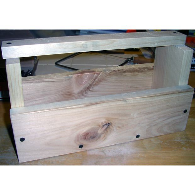 Picture of Cub scout project: Wood Tool Box Highly Recommend!!!