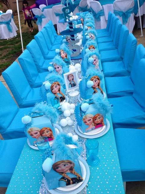 The Dummies Guide To A Frozen Birthday Party