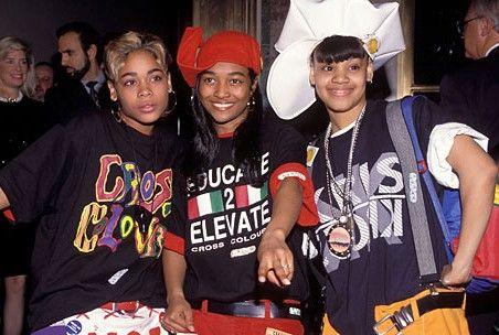 TLC in Cross Colours #hiphop #90s