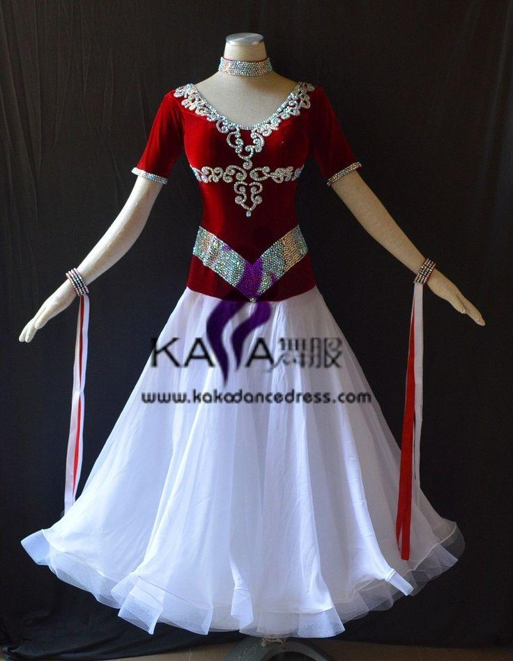 Aliexpress.com: Compre Kaka Dance b1533, Padrão de dança, Valsa de salão vestido competição, Vestidos de competição de dança de salão de confiança vestido de volta fornecedores em SZ KAKA DANCE DRESS FACTORY Online store 31159
