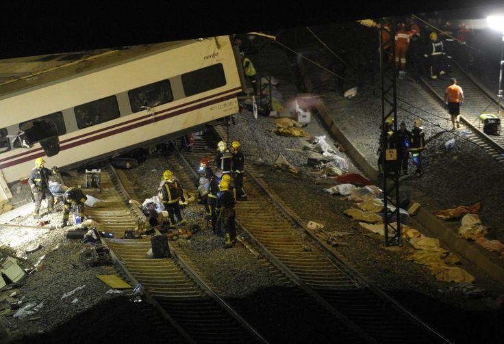 Mirá las imágenes más impactantes de la Tragedia de España http://www.diariopopular.com.ar/c163947
