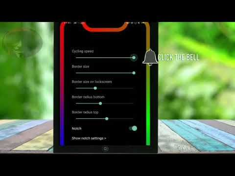 How to Set Border Light On Any Android|Set Border light