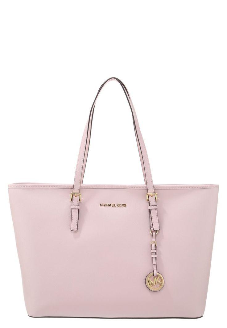 MICHAEL Michael Kors JET SET TRAVEL Shopping Bag blossom | Stylaholic #Michaelkors #luxury #mode #fashion #stylaholic
