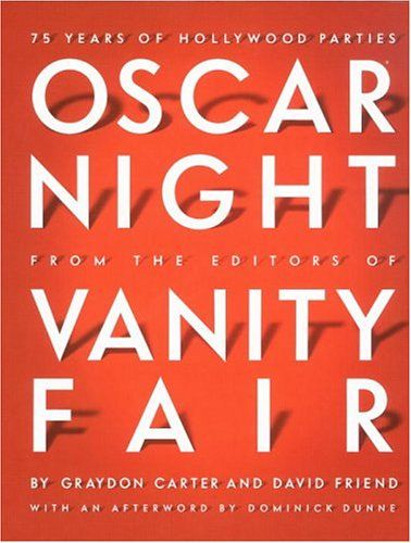 Oscar Night: 75 Years of Hollywood Parties  From the first Academy Awards black-tie dinner dance in 1929 to the glittering Vanity Fair gala in 2004, from the 1940s gatherings at the most fashionable nightspots in Los Angeles–Ciro's, Mocambo, Romanoff's, Chasen's–to the star-studded parties thrown by legendary agent Swifty Lazar from the 1960s to the 1990s, here is a photo history of all those events, presented ...