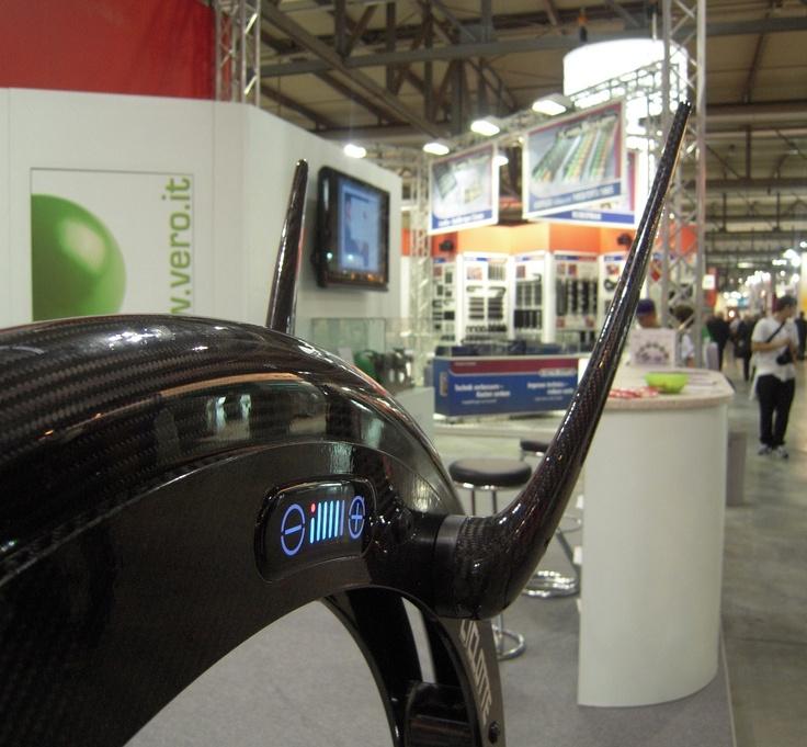 """Carbon Fiber Ciclotte at """"Bimu"""" Exhibition"""