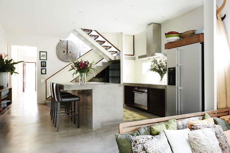 This fabulous, fun house in North Bondi, Sydney puts a tropical tiki spin on a contemporary hom...
