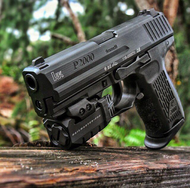 HK, P2000, 9mm, pistol, laser, guns, weapons, self defense, protection, 2nd amendment, America, firearms, munitions #guns #weapons
