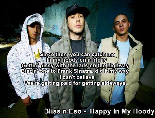 Bliss n Eso - Happy In My Hoody