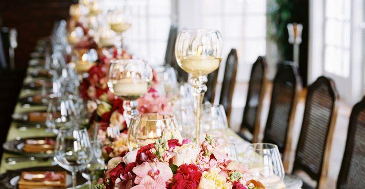 Elegant Dinner Party + Sleepover
