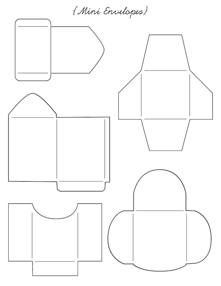 220 best enveloppen images on Pinterest Cards, DIY and Cool stuff - a2 envelope template