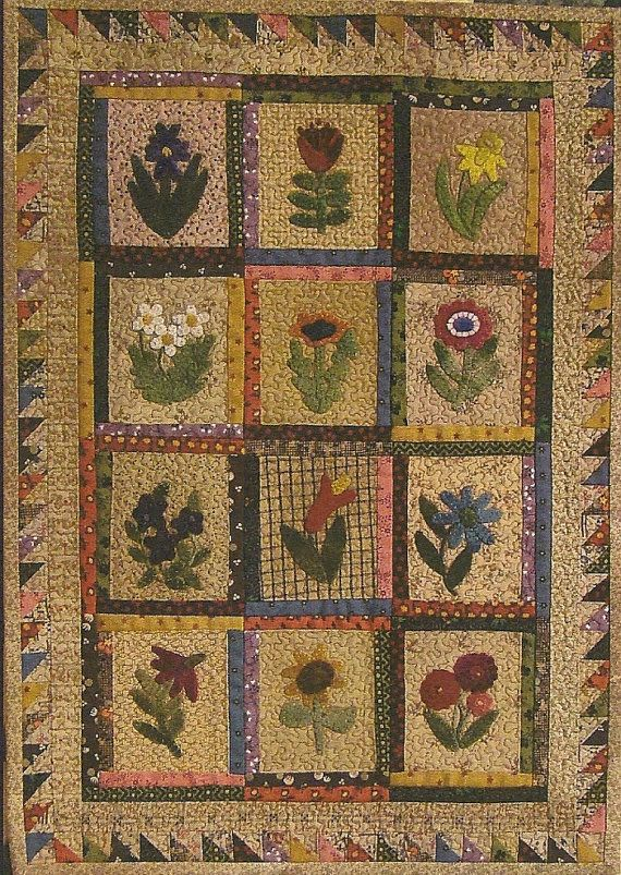 Best 25+ Wool applique quilts ideas on Pinterest | Wool applique ... : wool quilt patterns - Adamdwight.com