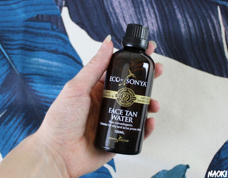 Face Tan Water van Eco by Sonya