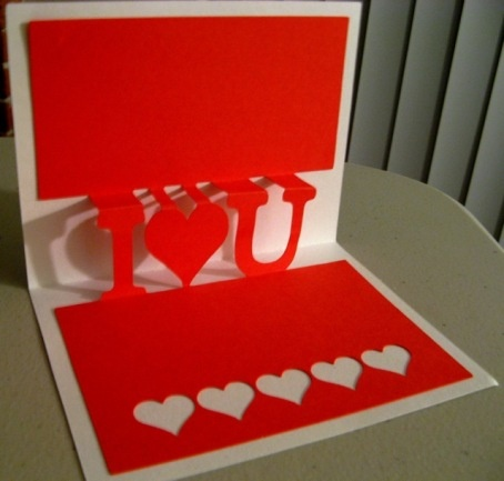 132 best pop up images – How to Make a Valentines Pop Up Card