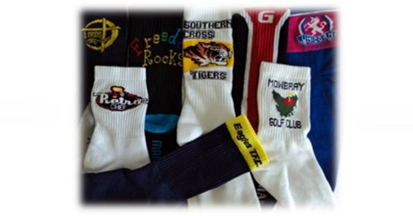 Sports Socks - Queensland Hosiery Mill Sports Socks are available plain or with stripes and/or logo. Full Terry Foot is Standard however Non or Half Terry is available on request. Sports Socks are Cotton and Nylon blend (cotton rich – between 60% & 80%) with percentages depend on how much cushioning and size of the logo which is 100% nylon. These Sports Socks are available with Elasticised 16 cm leg or for the athlete with Elasticised 13 cm leg.