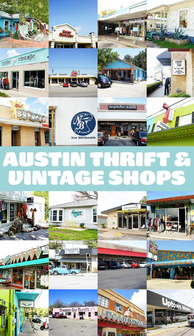 The Pink Samurai: Austin Thrift Stores and Vintage Shops • So many mid-century modern shops in this list!