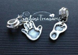 jewellery with hand prints - Bambini Treasures