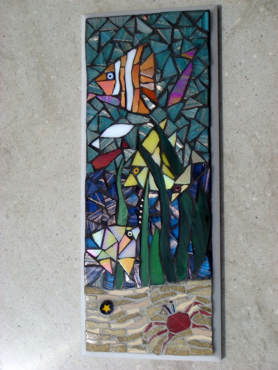 123 Best Images About Mosaic Fish On Pinterest See Best
