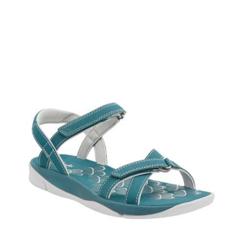 Tresca Trace Teal Synthetic womens-sandals