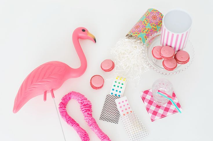 Pink party supplies are totally needed.